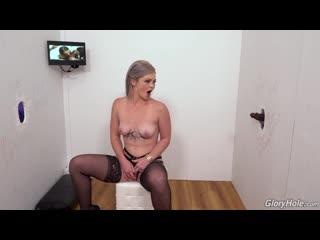 [GloryHole] Kay Carter - 2 On 1, IR, Blonde, Big Booty, Tattoos, Hairy, Pantyhose / Stockings, Facial, Swallow, Cumshot
