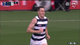Jeremy Cameron kicks 3 goals on Cats debut | Geelong v WCE: Round 6, 2021