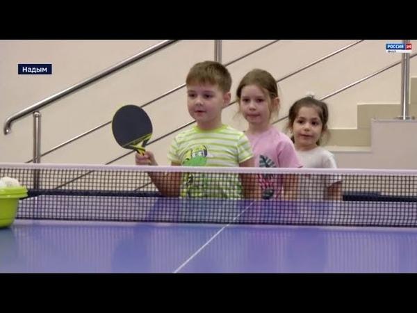 Обучат игре в баскетбол и теннис коллектив надымского спорткомплекса пополнился новыми кадрами