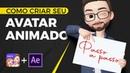 Como criar o seu Avatar animado no aplicativo Zepeto After Effects! PASSO A PASSO