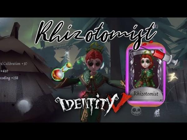 Identity V | Doctor (Rhizotomist skin) Gameplay | 8v2