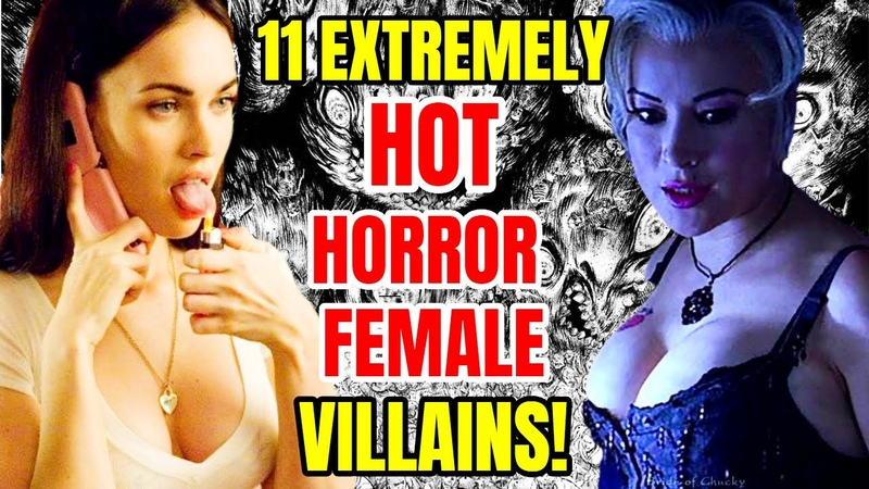 11 Dangerously Hot Horror Female Villains Who Stole Our Hearts Away!