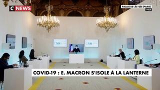 Covid-19 : Emmanuel Macron s'isole à La Lanterne