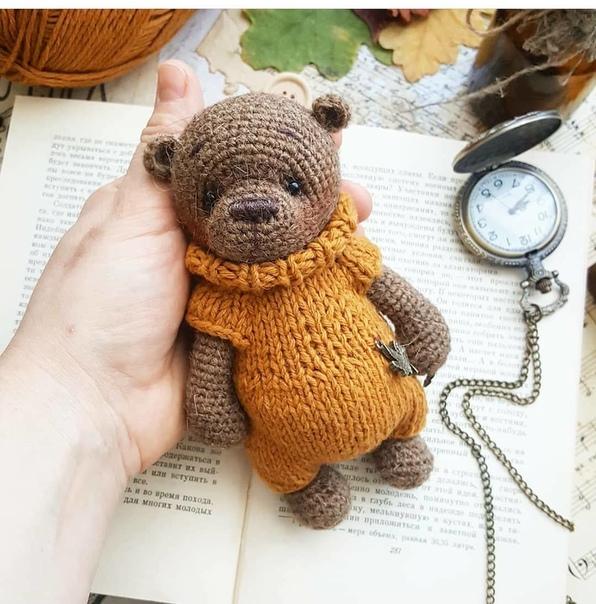 Мишка в комбинезоне ???? Автор  my_good_bears  . ВНИМАНИЕ! В ОПИСАНИИ...