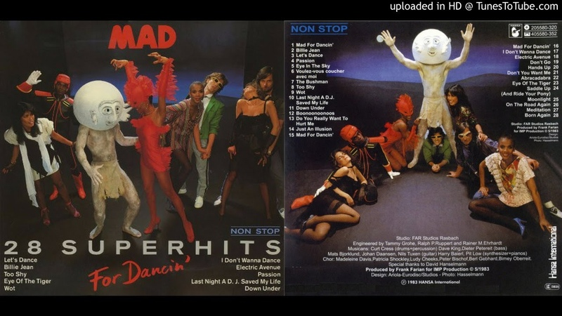 Mad For Dancin' 28 Non Stop Superhits 1983