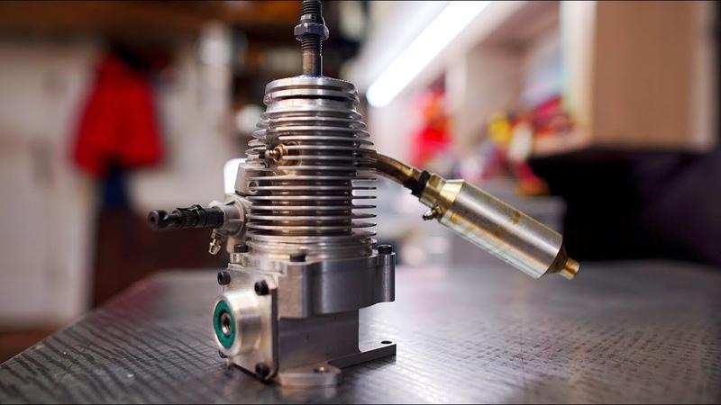 Необычный 4 тактный двигатель БЕЗ КЛАПАНОВ гильза вращается Что за зверь такой