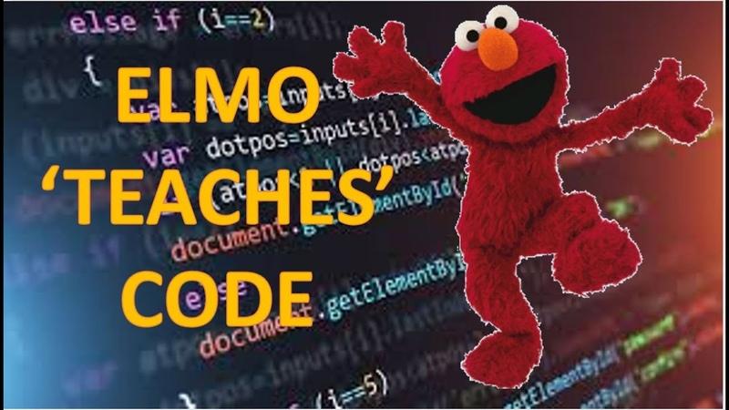 If Elmo taught coding