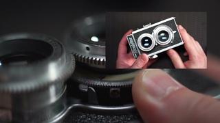Guide to Operating The SUPER RICOHFLEX Medium Format Camera