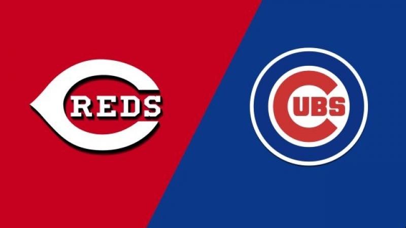 NL 24 08 2018 CIN Reds @ CHI Cubs 2 4