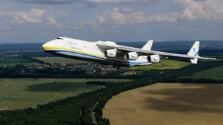 Ан-225 МРИЯ. Уникальное видео взлета снятое с воздуха. Рейс Киев-Лейпциг. Такого вы точно не видели.