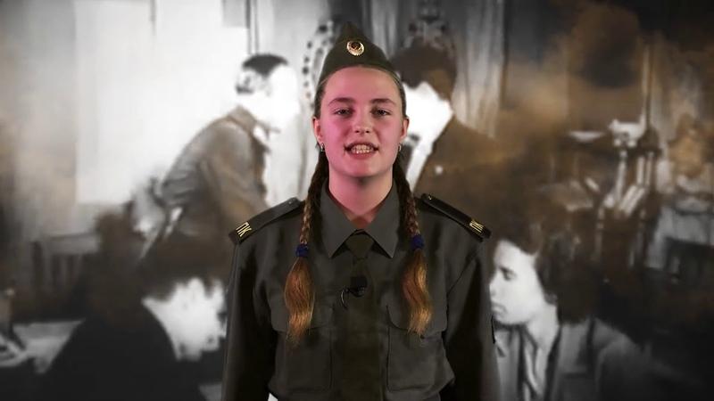 Конкурс стихов Валерия Малаханова 13 лет СШ 16 TV