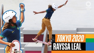 🛹 The BEST of Rayssa Leal 🇧🇷 at the Olympics