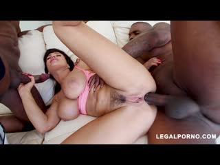 Legendary MILF Lisa Ann Receiving DP From Prince Yahshua Rico Strong AB
