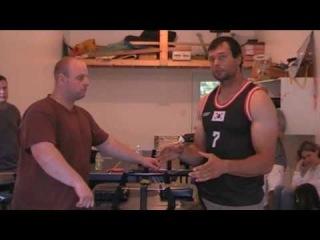 Arm wrestling - parody on Alexey Voevoda by Devon Larratt and High Hookers