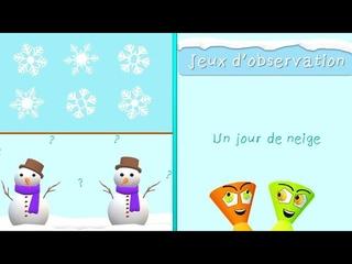 JEUX D'HIVER ❄️ Un jour de neige ☃️