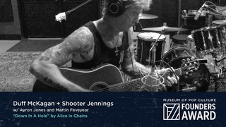 """Duff McKagan & Shooter Jennings - """"Down In A Hole"""" by Alice In Chains 