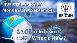Second Lockdown / Brexit / Anne Marie Waters / For Britain