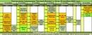 Расписание тренировок на следующую неделю с 12 по 18 октября 🍁🍂    Первая пробная групповая трениров