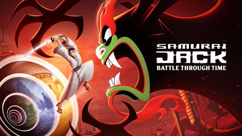 САМУРАЙ ДЖЕК ВИДЕОИГРА Samurai Jack Battle Through Time 1