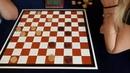Тансыккужина - Федорович. Командный чемпионат Европы по международным шашкам 2019 (блиц)