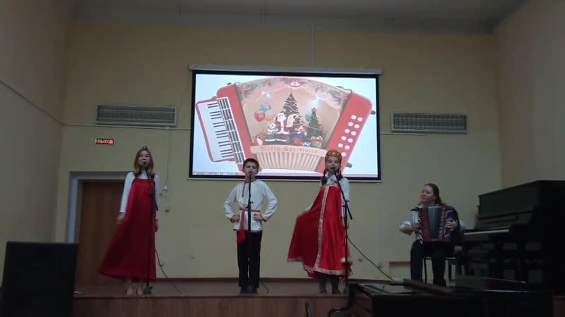 Концерт в Вытегорской школе искусств Фрагмент 2
