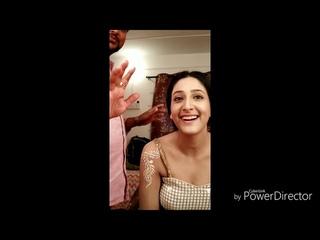 Radha Krishna makeup
