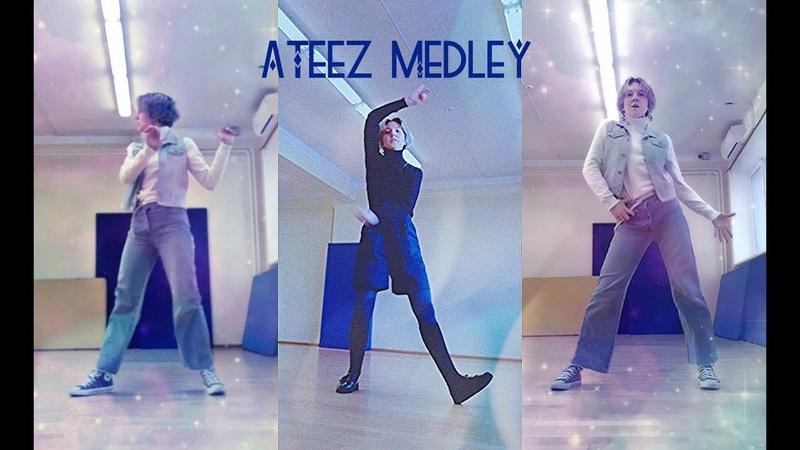 (Dance cover by HouJI) ATEEZ MEDLEY Pirate King/Treasure/My Way