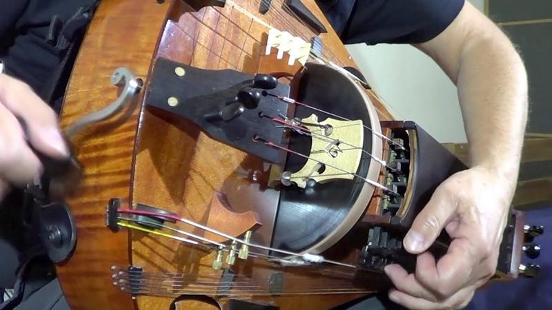 Reverse Dance Medieval Dance Hurdy Gurdy Organ Drum