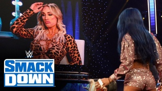 Sasha Banks decides to battle Carmella for the title before WWE TLC: SmackDown, Dec. 11, 2020