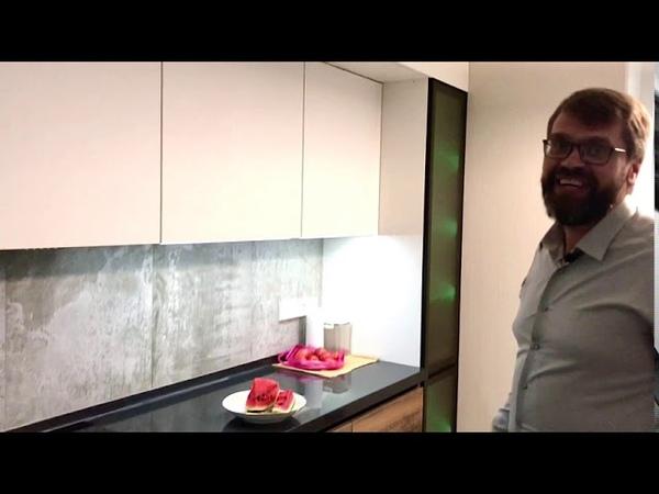 Видеообзор шикарной кухни