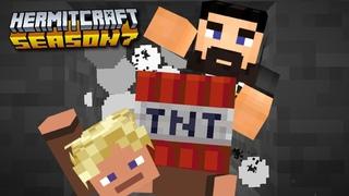 Beef & Zed Go Boom! - Minecraft Hermitcraft Season 7