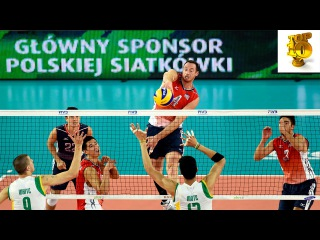 Top 10 Best Volleyball Spikes: David Lee in World Championships 2014.