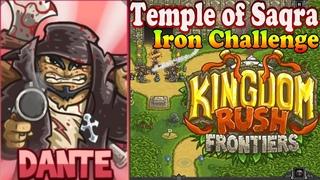 Kingdom Rush Frontiers HD Temple of Saqra Iron (Level 11) Hero Dante