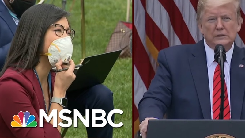 Trump Abruptly Ends News Briefing After Clash With Reporters Morning Joe MSNBC