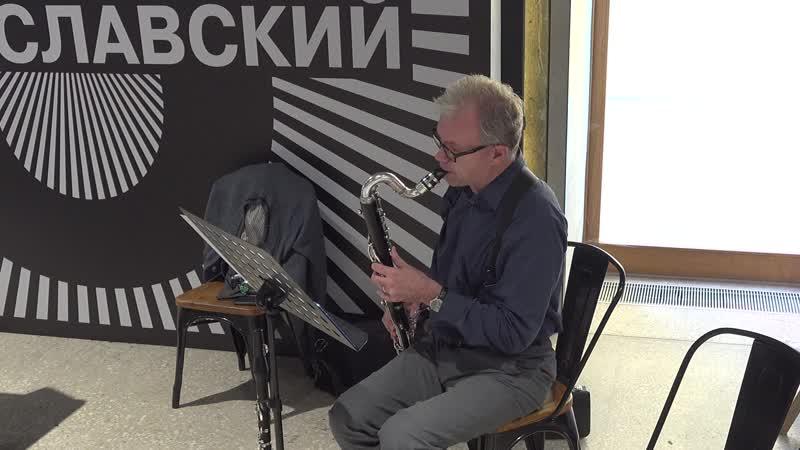Григорий ЗайцевGrygory Zaytsev Плач козодояThe сry of the Nighthawk for Bass Clarinet solo
