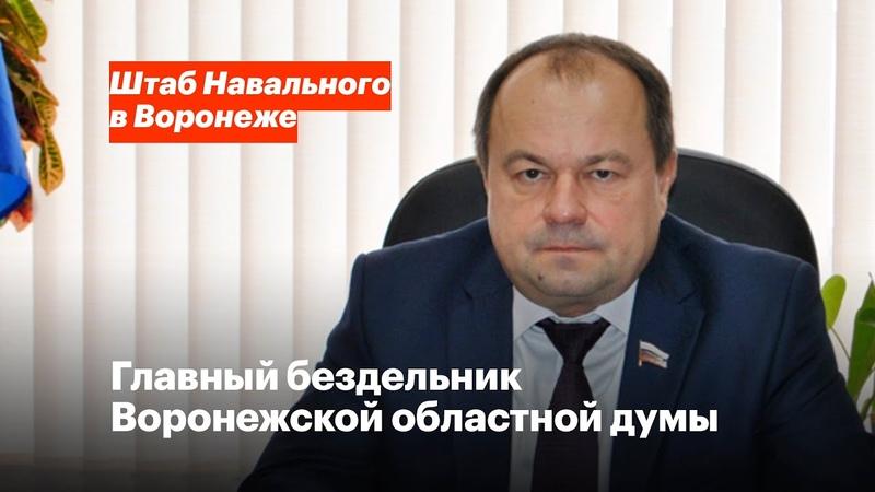 Главный бездельник Воронежской областной думы