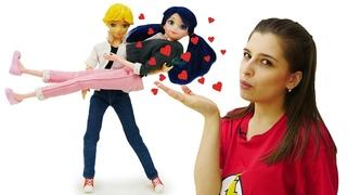 Валентинка для Леди Баг - Кукла Маринет и Супер Кот - Игры для девочек Тойклаб