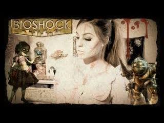 Halloween Tutorial Little Sister - BioShock (Makeup+DIY)- Oct 17, 2012/ marzia