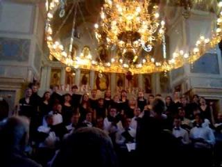 Студенческий хор БГАМ (Минск), худ.рук.и дирижер Инесса Бодяко