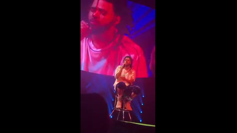 Love Yourz - J.Cole Live (with speech)