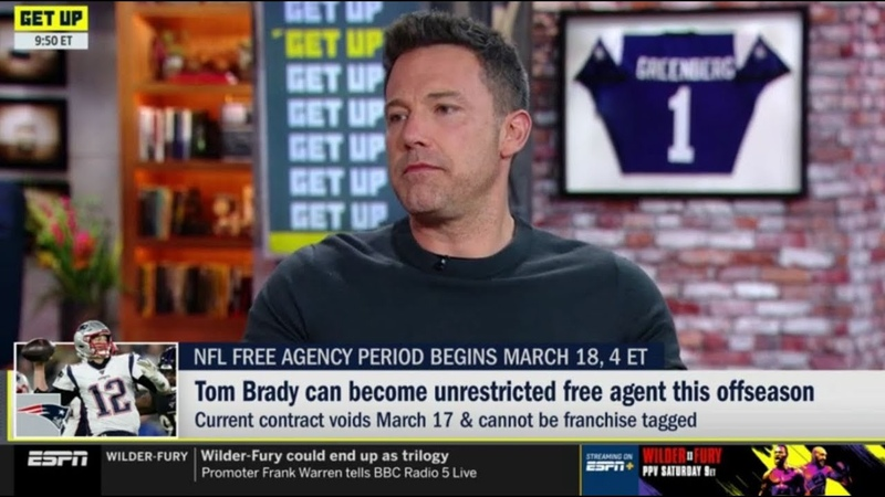 Ben Affleck on Tom Brady can become unrestricted free agent this offseason | ESPN Get Up