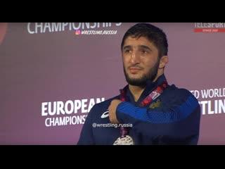 Abdulrashid sadulaev european champion 97 kg!