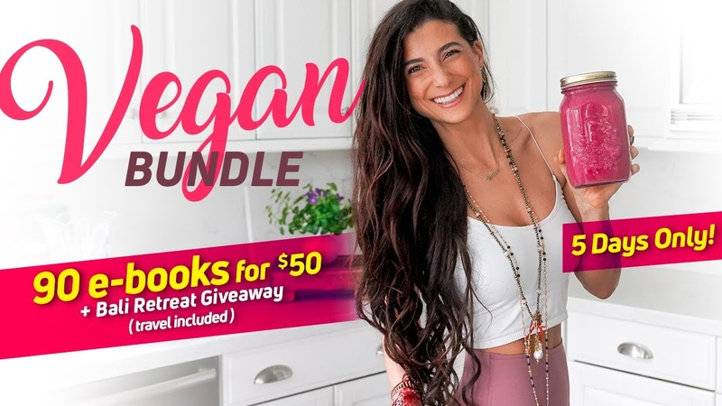 5 DAYS ONLY 90 e-Books for $50 Bali Retreat Giveaway! Get the Vegan Bundle Now...