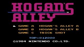 Hogan's Alley. Hogan's Alley A Mode. NES [No Damage Gameplay (30 Rounds) / Геймплей (30 Раундов)]