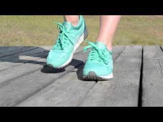 "Ronnie Fieg x Asics Gel-Lyte V ""Mint"" - On-Foot"