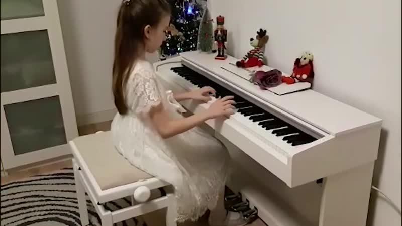 Thoinot Arbeau Т Арбо Ding dong merrily on high Французская и английская Рождественская песня исп Екатерина Кузнеделева