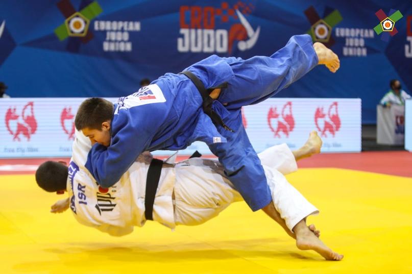Валерий Ендовицкий бронзовый призёр первенства Европы по дзюдо до 21 года в Хорватии, изображение №6