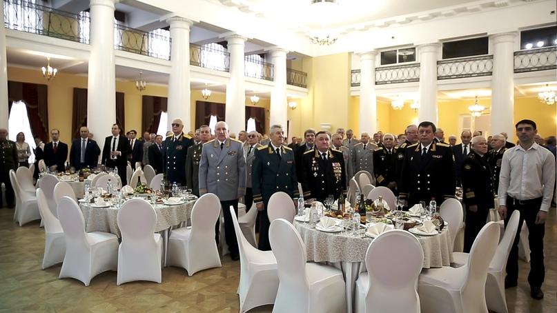 Кинокомпания «Союз Маринс Групп» приняла участие в торжественном приеме Клуба военачальников, изображение №2
