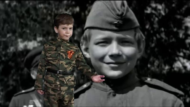 Маленькие дети Великой войны, читает Лыков Дамир 7 лет
