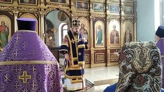 Проповедь владыки Антония в Неделю Кресопоклонную